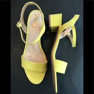 CIRCUS by Sam Edelman Ibis Sharp Yellow Sandal